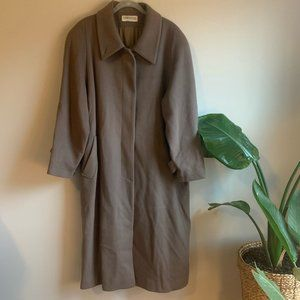 Vintage Forecaster of Boston Wool Trench Coat